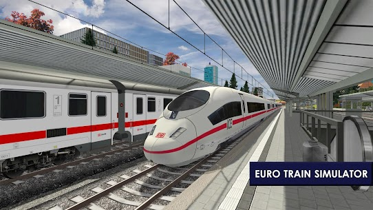Euro Train Simulator 2 1.0.5.6 Apk Mod (Unlocked) Download 2018 1
