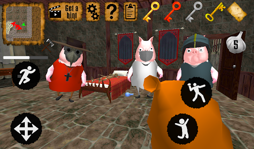 Piggy Doctor Neighbor Escape apkmr screenshots 9