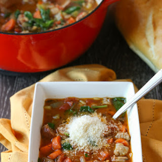 Italian Sausage and Vegetable Soup Recipe