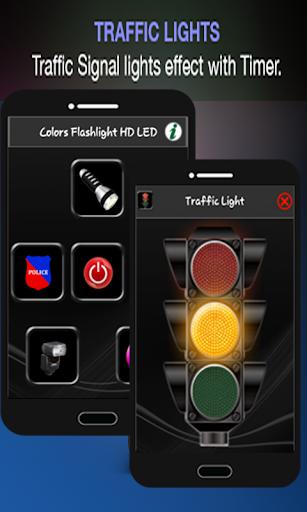 Colors Flashlight HD LED