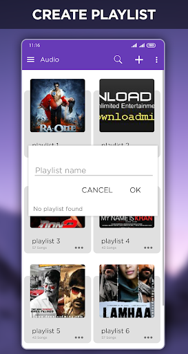 Mp4 HD Player - Music Player & Media Player screenshot 6
