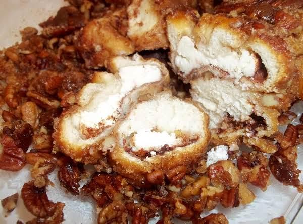 Pecan Cream Cheese Pull Aparts Recipe
