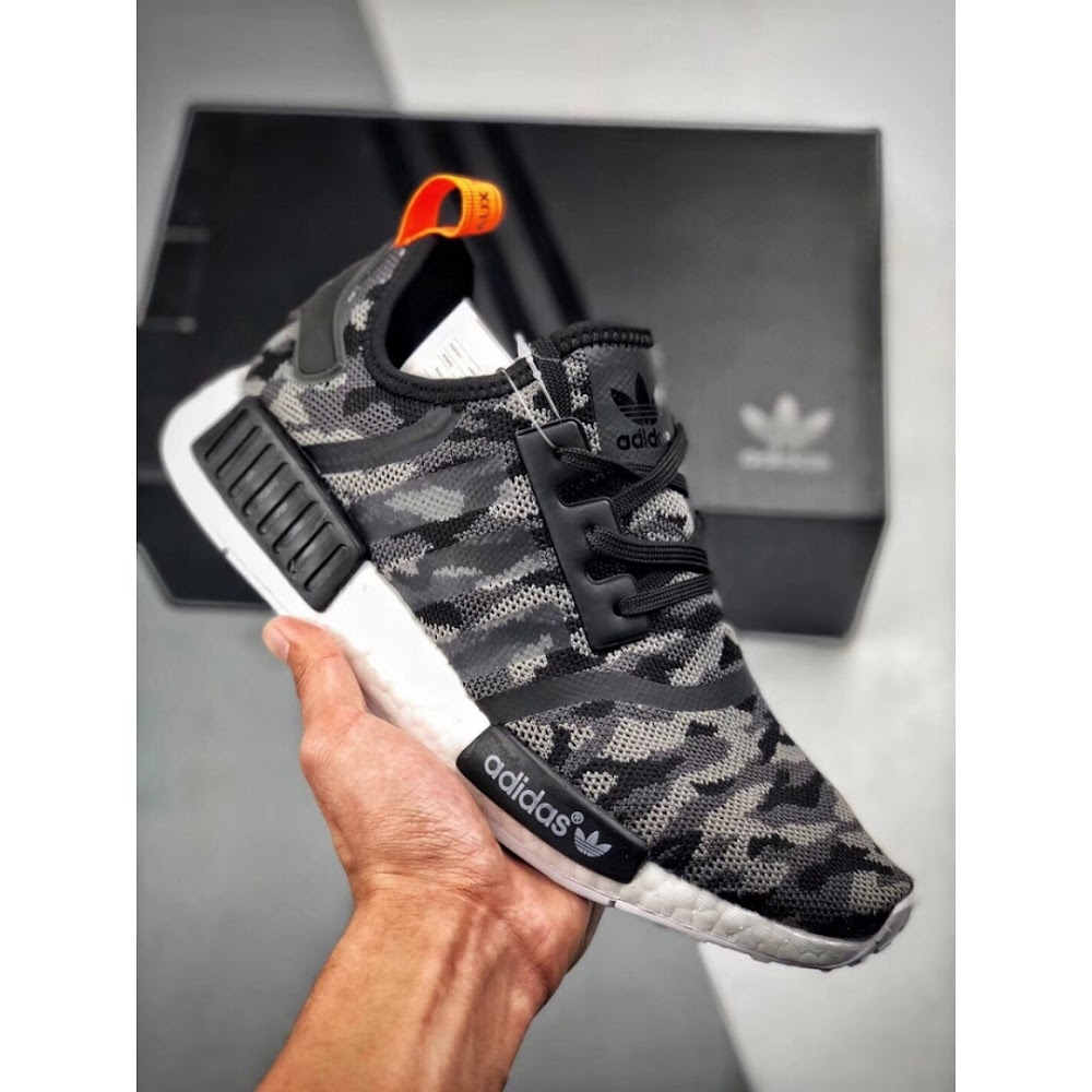 official photos debcf 1e1c4 Adidas NMD R1 Printed Series NYC (Camo Grey)