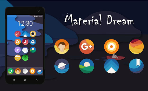 Material Dream - Icon Pack app for Android screenshot