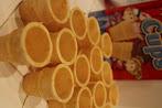 Photo: Los conitos listos para ser rellenados.