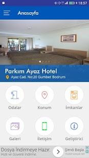 Parkım Ayaz Hotel Gümbet - náhled