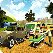 Camper Van: Emergency Ambulance Rescue Driver 2017