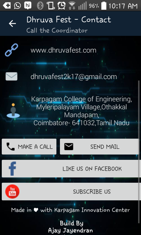 Dhruva Fest @ KCE- screenshot