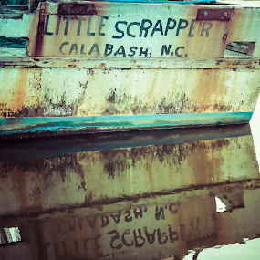 Little Scrapper by Robert Dixon - Transportation Boats