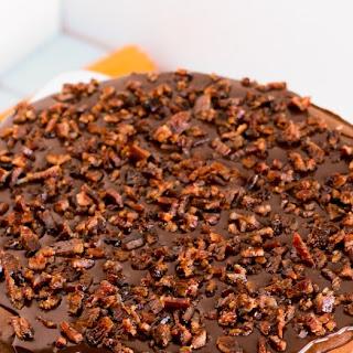 Bacon Chocolate Stout Cheesecake