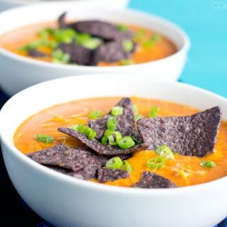 15 Minute Chicken Enchilada Soup