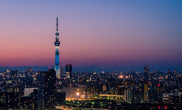 Photo: The Skytree towers over the buildings of Tokyo
