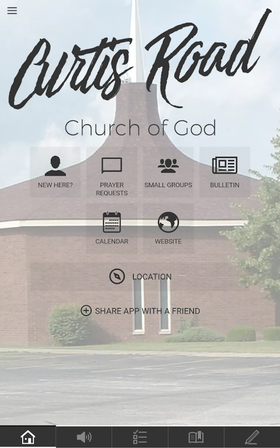Curtis Road Church of God- screenshot