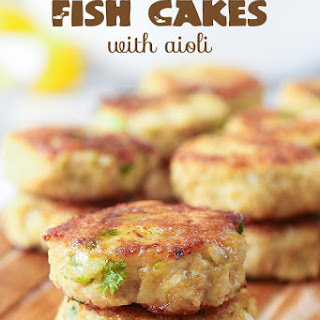 Keto Fish Cakes with Aioli