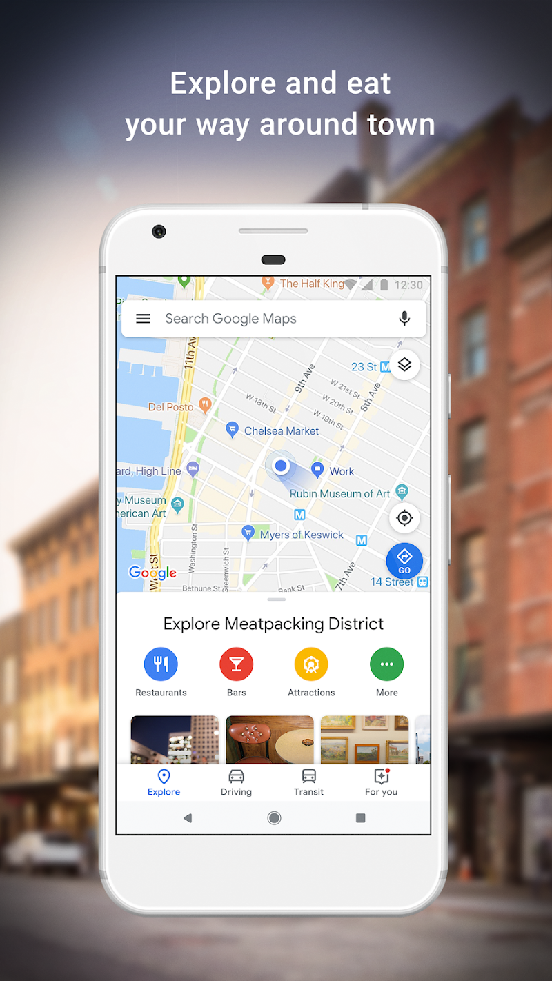 Maps - Navigate & Explore Screenshot 2
