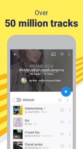 Deezer Music Player: Songs, Radio & Podcasts 6.0.3.44 screenshots 5