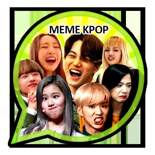 Meme Kpop Stickers For Whatsapp Wastickerapps Aplikasi Di Google