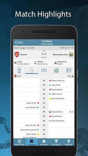 Score24 - Live Score Tracker 1.4 screenshots 2
