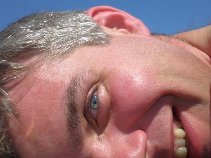 Vista..occhi azzurro cielo di ornelele
