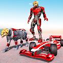 Cheetah Robot Car Transform icon