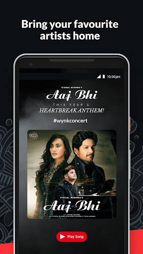 Wynk Music- New MP3 Hindi Songs Download HelloTune 3.9.1.0 screenshots 5
