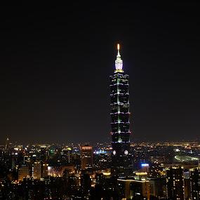 by 冠霖 杜 - City,  Street & Park  Night