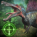 Wild Dino VS Deadly Hunter 3D icon