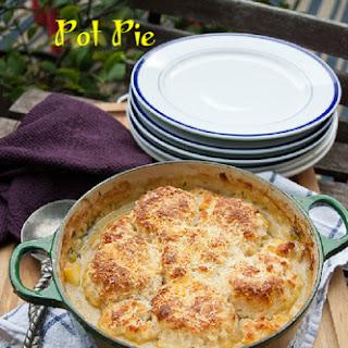 Chicken Cobbler Pot Pie