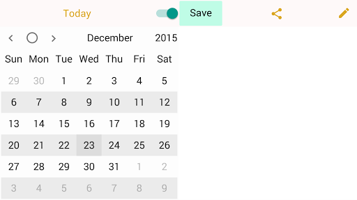 Fine Diary (Paid) app for Android screenshot