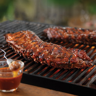 Tangy Grilled Back Ribs.