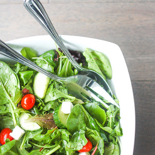 Mixed Greens Salad with Balsamic Vinaigrette