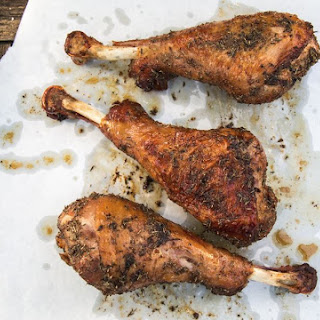 How to Make Roasted Turkey Legs Lunch