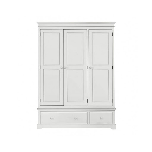 Birlea Suffolk White Bedroom Furniture