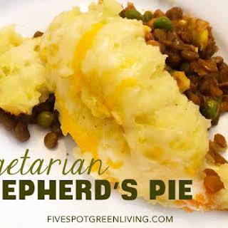 Vegetarian Shepherds Pie Recipe with Lentils.