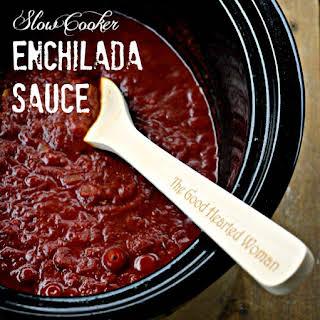 Slow Cooker Enchilada Sauce.