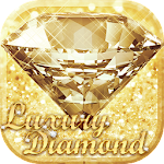 Luxury Diamond theme Clauncher Icon