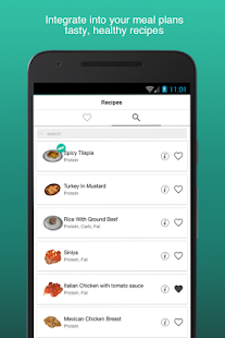 fitness meal planner apps on google play