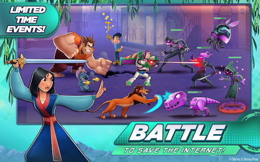Disney Heroes: Battle Mode apktram screenshots 1