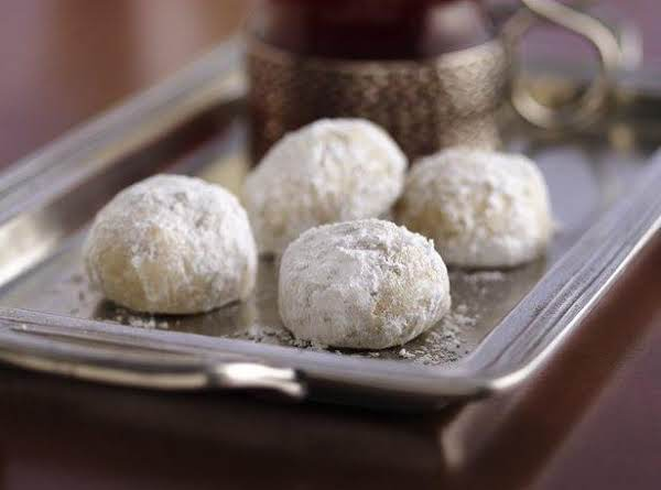 Russian Tea Cakes! They Melt In Your Mouth!