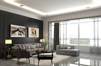 Appartement 4 pièces 85,45 m2
