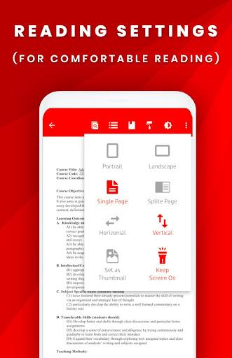 PDF File Reader - Viewer screenshot 3