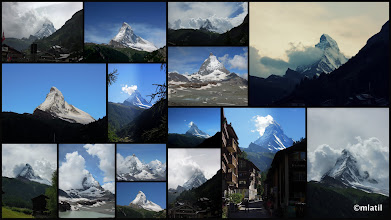 Photo: Matterhorn in the course of the week... one can't avoid taking these pictures all the time