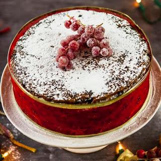 Apricot and Brandy Christmas Cake Recipe