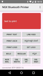 NGX Bluetooth Printer Demo 1.2 APK Mod Latest Version 1