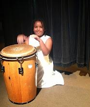 Photo: drumming