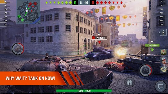 World of Tanks Blitz MMO MOD Apk 6.10.0.573 (Unlimited Gold) 5