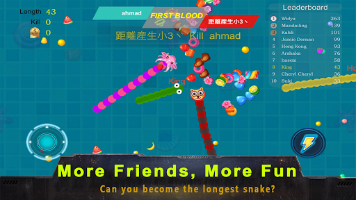 Télécharger Bataille de serpent: mode couleur APK MOD (Astuce) screenshots 5