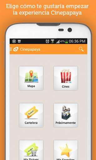 Cartelera Cinepapaya