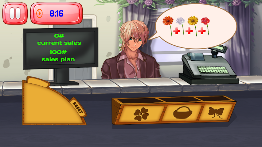 android Florist Shop Story Screenshot 0
