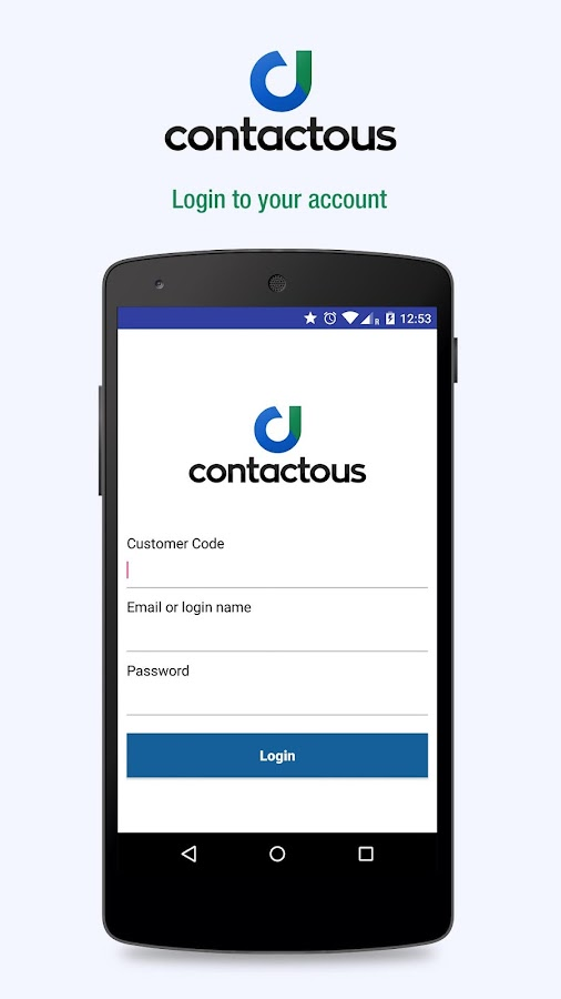 Contactous- screenshot